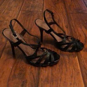 Black Nine West heels